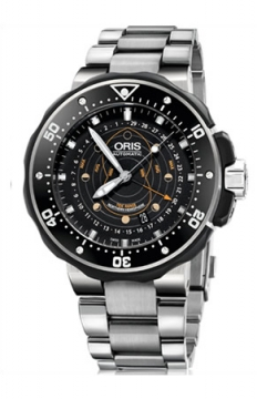 Oris ProDiver Pointer Moon 49mm Mens watch, model number - 0176176827154-Set, discount price of £1,595.00 from The Watch Source
