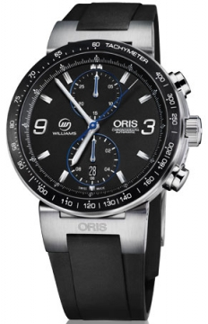 Oris Williams F1 Team Limited Edition Mens watch, model number - 0177376854184-Set RS, discount price of £1,705.00 from The Watch Source