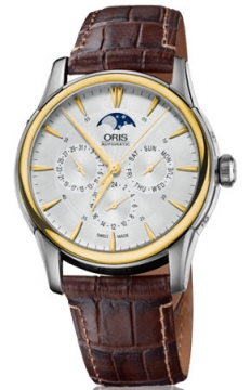 Oris Artelier Complication 2014 Mens watch, model number - 0178177034351-0752170FC, discount price of £1,189.00 from The Watch Source