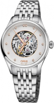 Oris Artelier Skeleton 33mm 01 560 7724 4031-07 8 17 79 watch