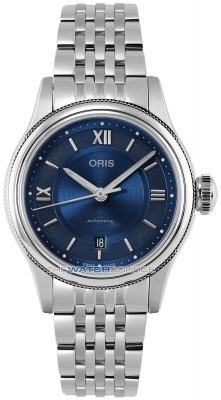 Buy this new Oris Classic Date 28.5mm 01 561 7718 4075-07 8 14 10 ladies watch for the discount price of £867.00. UK Retailer.