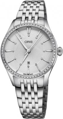 Oris Artelier Date 33mm 01 561 7724 4951-07 8 17 79 watch