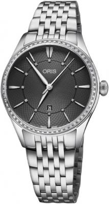 Oris Artelier Date 33mm 01 561 7724 4953-07 8 17 79 watch