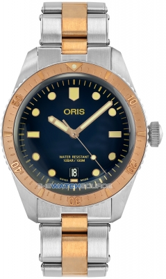 Oris Divers Sixty-Five 40mm 01 733 7707 4355-07 8 20 17 watch