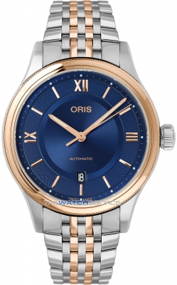 Buy this new Oris Classic Date 42mm 01 733 7719 4375-07 8 20 12 mens watch for the discount price of £935.00. UK Retailer.