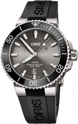 Oris Aquis Date 43.5mm 01 733 7730 7153-07 4 24 64TEB watch