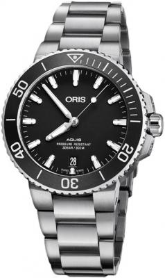 Oris Aquis Date 39.5mm 01 733 7732 4124-07 8 21 05EB watch