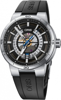 Oris TT1 Engine Date 01 733 7752 4124-07 4 24 06FC watch