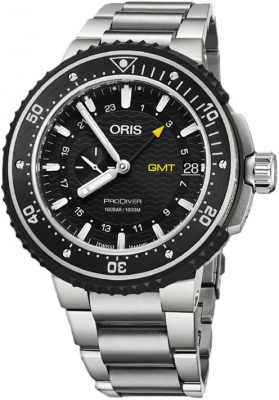 Oris ProDiver GMT 49mm 01 748 7748 7154-07 8 26 74PEB watch