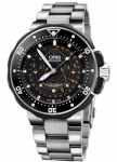 Oris ProDiver Pointer Moon 49mm 01 761 7682 7134-Set Southern Hemisphere watch