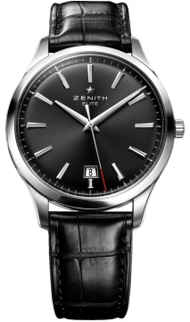 Zenith Captain Central Second Mens watch, model number - 03.2020.670/21.c493, discount price of £3,340.00 from The Watch Source