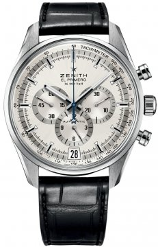 Zenith El Primero 36'000 VpH 42mm Mens watch, model number - 03.2040.400/04.c496, discount price of £4,480.00 from The Watch Source