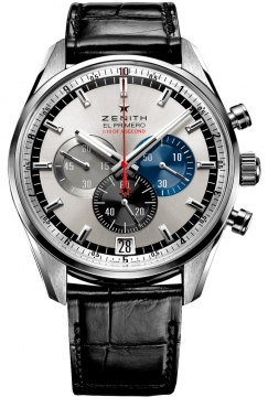 Zenith El Primero Striking 10th Chronograph Mens watch, model number - 03.2041.4052/69.c496, discount price of £7,755.00 from The Watch Source