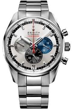 Zenith El Primero Striking 10th Chronograph Mens watch, model number - 03.2041.4052/69.m2040, discount price of £7,665.00 from The Watch Source