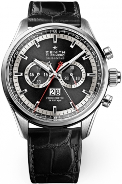 Zenith El Primero Rattrapante Chronograph Mens watch, model number - 03.2050.4026/91.c719, discount price of £9,453.00 from The Watch Source