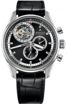 Zenith El Primero Tourbillon Chronograph Mens watch, model number - 03.2050.4035/21.c714, discount price of £33,320.00 from The Watch Source