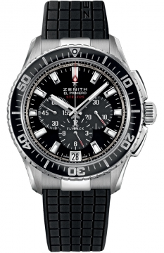 Zenith El Primero Stratos Flyback Mens watch, model number - 03.2060.405/21.r515, discount price of £4,895.00 from The Watch Source