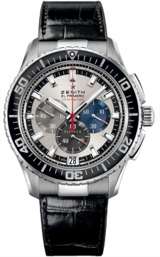Zenith El Primero Stratos Flyback Striking 10th Mens watch, model number - 03.2062.4057/69.c714, discount price of £5,700.00 from The Watch Source