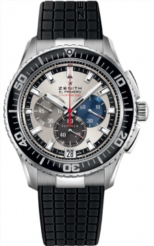 Zenith El Primero Stratos Flyback Striking 10th Mens watch, model number - 03.2062.4057/69.r515, discount price of £5,600.00 from The Watch Source