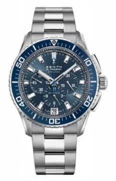 Zenith El Primero Stratos Flyback Mens watch, model number - 03.2067.405/51.M2060, discount price of £5,145.00 from The Watch Source