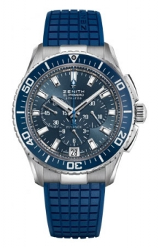 Zenith El Primero Stratos Flyback Mens watch, model number - 03.2067.405/51.R514, discount price of £4,645.00 from The Watch Source