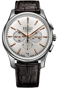 Zenith Captain Chronograph Mens watch, model number - 03.2110.400/01.c498, discount price of £4,895.00 from The Watch Source