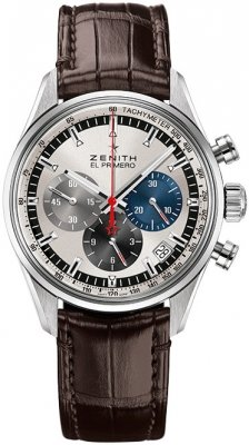 Buy this new Zenith Chronomaster El Primero 38mm 03.2150.400/69.c713 mens watch for the discount price of £4,565.00. UK Retailer.