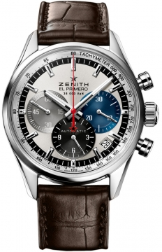 Zenith El Primero 36'000 VpH 38mm Mens watch, model number - 03.2150.400/69.c713, discount price of £4,880.00 from The Watch Source