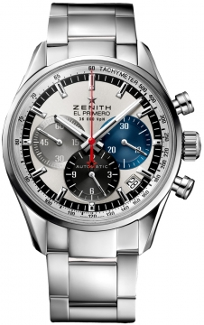 Zenith El Primero 36'000 VpH 38mm Mens watch, model number - 03.2150.400/69.m2150, discount price of £5,360.00 from The Watch Source