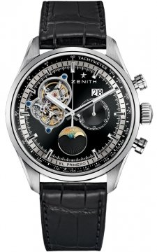 Zenith El Primero Chronomaster Open Grande Date Mens watch, model number - 03.2160.4047/21.c714, discount price of £7,545.00 from The Watch Source