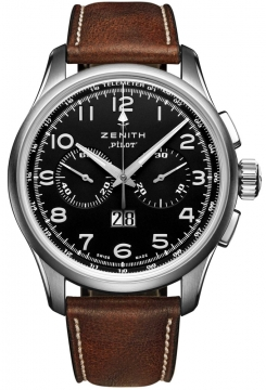 Zenith Pilot Big Date Special Mens watch, model number - 03.2410.4010/21.c722, discount price of £4,370.00 from The Watch Source
