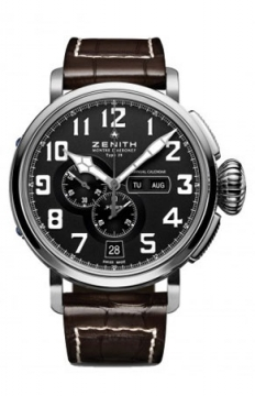 Zenith Pilot Montre d'Aeronef Type 20 Annual Calendar Mens watch, model number - 03.2430.4054/21.C721, discount price of £6,437.00 from The Watch Source