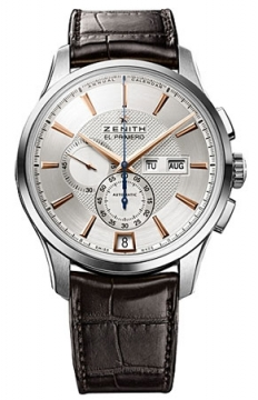 Zenith Captain Winsor Chronograph Mens watch, model number - 03.2070.4054/02.c711, discount price of £6,475.00 from The Watch Source