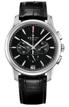 Zenith Captain Chronograph Mens watch, model number - 03.2110.400/22.c493, discount price of £4,895.00 from The Watch Source