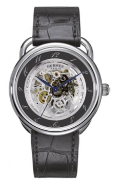 Hermes Arceau Squelette Automatic TGM 41mm Mens watch, model number - 035080WW00, discount price of £5,193.00 from The Watch Source