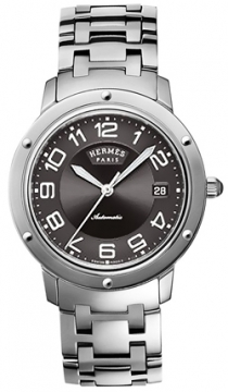 Hermes Clipper Automatic GM 39mm Midsize watch, model number - 035132WW00, discount price of £2,645.00 from The Watch Source