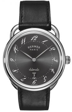 Hermes Arceau Automatic TGM 41mm Mens watch, model number - 035185WW00, discount price of £2,457.00 from The Watch Source