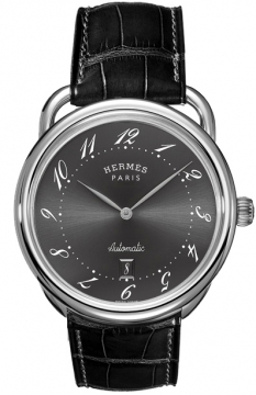 Hermes Arceau Automatic TGM 41mm Mens watch, model number - 035186WW00, discount price of £2,610.00 from The Watch Source