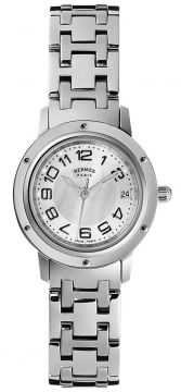 Hermes Clipper Quartz PM 24mm Ladies watch, model number - 035318WW00, discount price of £2,128.00 from The Watch Source