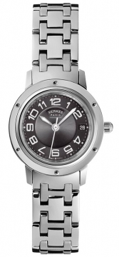 Hermes Clipper Quartz PM 24mm Ladies watch, model number - 035319WW00, discount price of £2,128.00 from The Watch Source