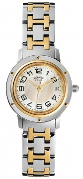 Hermes Clipper Quartz PM 24mm Ladies watch, model number - 035320WW00, discount price of £2,970.00 from The Watch Source