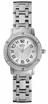 Hermes Clipper Quartz PM 24mm Ladies watch, model number - 035322WW00, discount price of £3,780.00 from The Watch Source