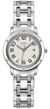 Hermes Clipper Quartz MM 28mm Ladies watch, model number - 035342WW00, discount price of £2,187.00 from The Watch Source