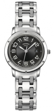 Hermes Clipper Quartz MM 28mm Ladies watch, model number - 035343WW00, discount price of £2,187.00 from The Watch Source