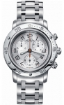 Hermes Clipper Chrono Quartz GM 36mm 035367WW00 watch