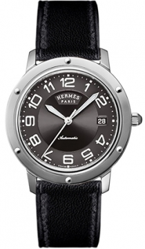 Hermes Clipper Automatic GM 39mm Midsize watch, model number - 035376WW00, discount price of £2,340.00 from The Watch Source