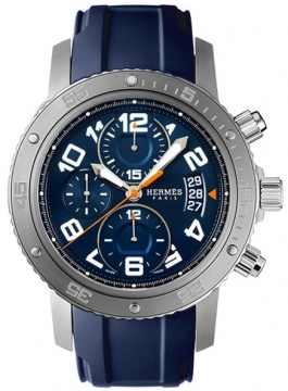 Hermes Clipper Chrono Automatic Maxi 44mm Mens watch, model number - 036058WW00, discount price of £4,347.00 from The Watch Source