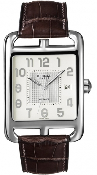 Hermes Cape Cod Automatic Large TGM Mens watch, model number - 036308WW00, discount price of £3,208.00 from The Watch Source