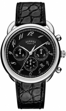 Hermes Arceau Automatic Chronograph 43mm Mens watch, model number - 036434WW00, discount price of £3,755.00 from The Watch Source