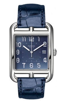 Hermes Cape Cod Automatic Large TGM Mens watch, model number - 036590WW00, discount price of £3,280.00 from The Watch Source